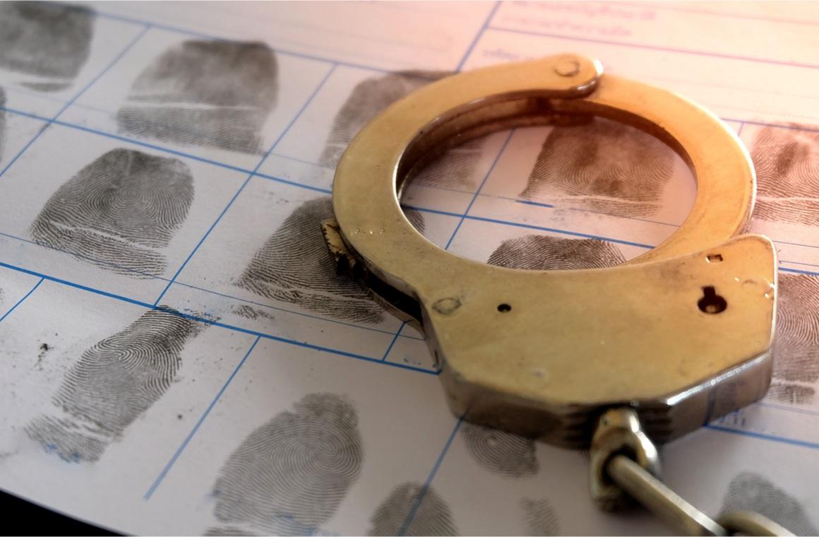 handcuffs crime violence