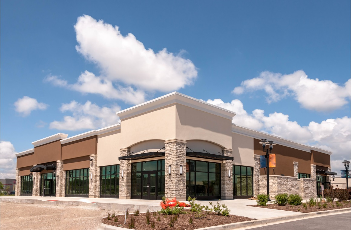 retail and office building space available for sale