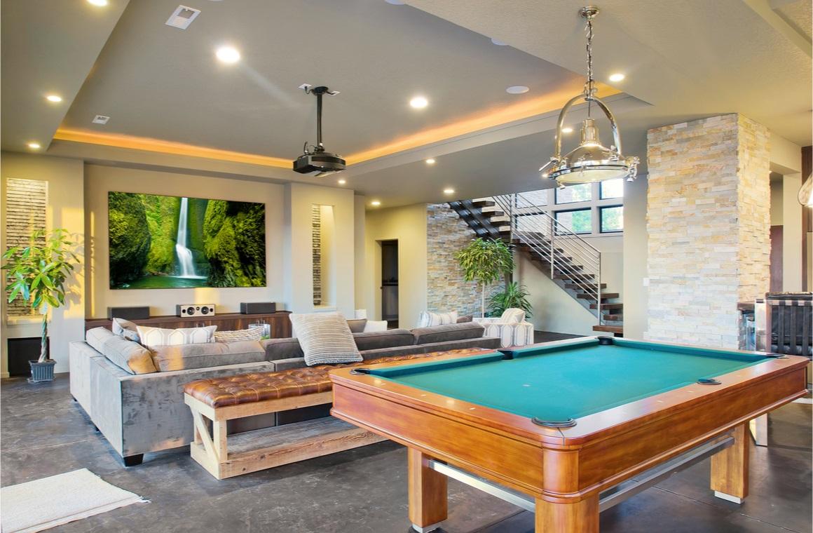 entertainment luxury home room