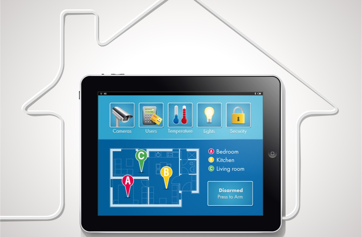 home automation smart security