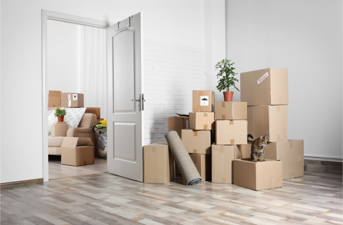 household stuff for moving