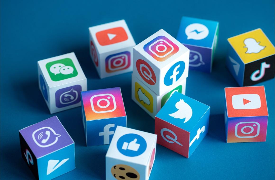 social network cubes concept