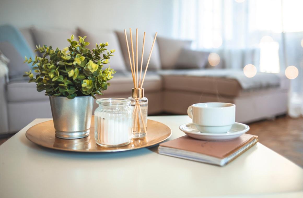 hygge aromatherapy concept