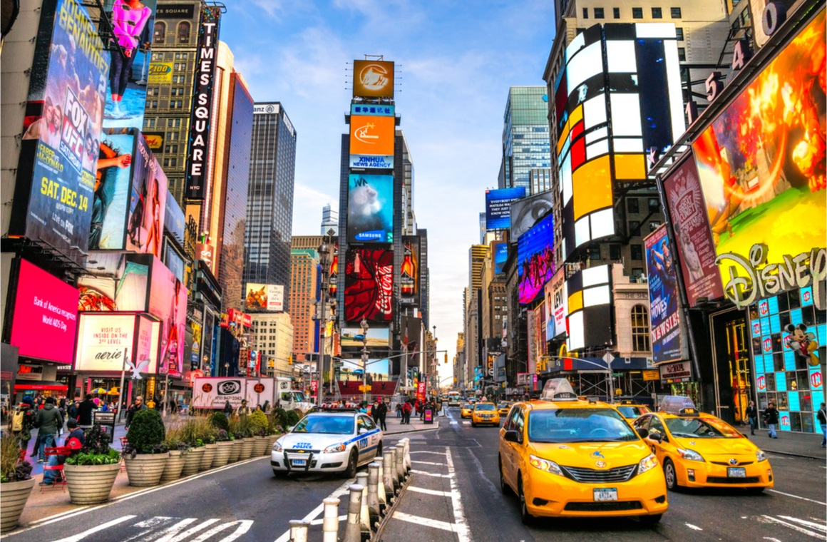 new york city timesquare street