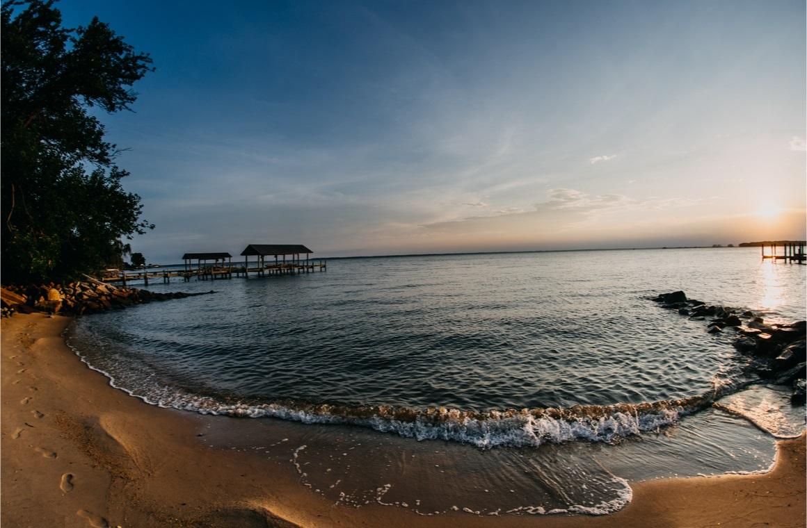 newport news virginia james river beach