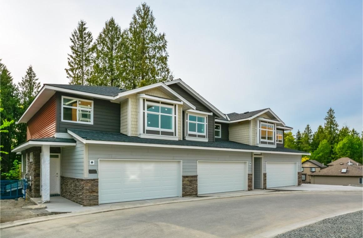 brand new residential triplex house