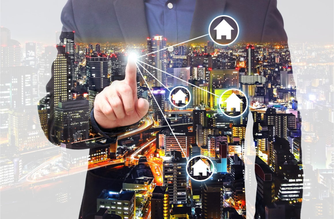 property management concept or hompage website concept