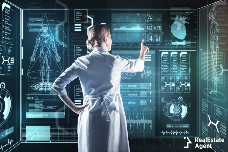 Medical Innovation Calm Smart Enthusiastic Doctor