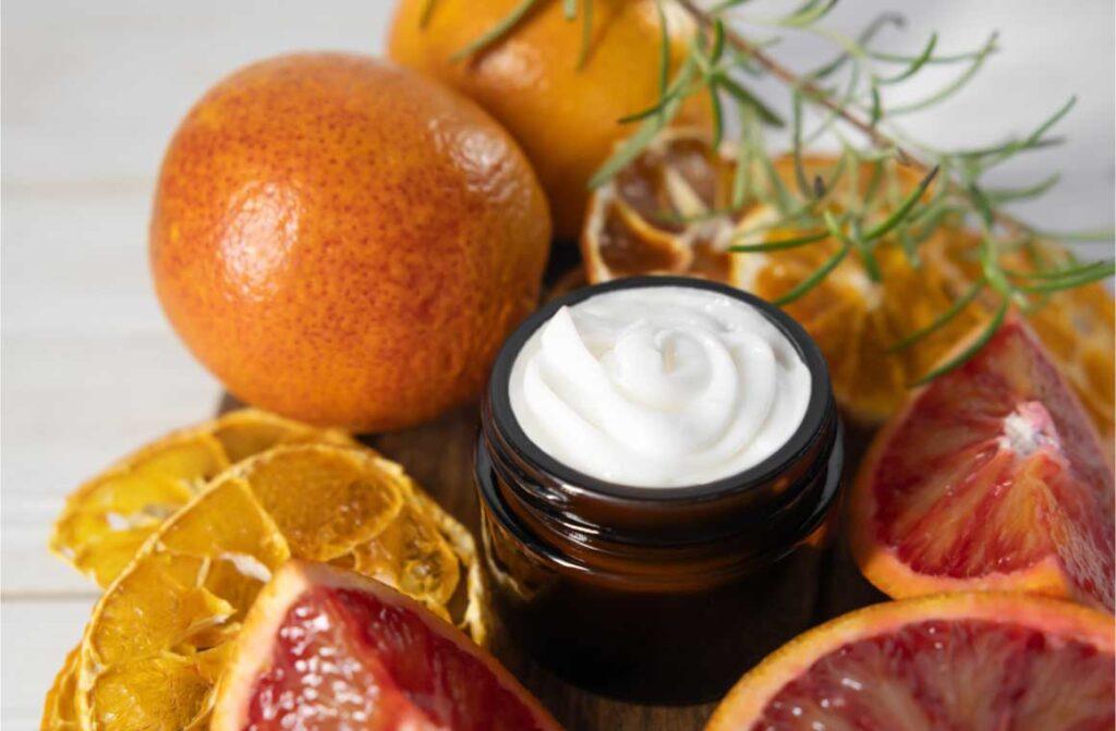 Citrus body cream