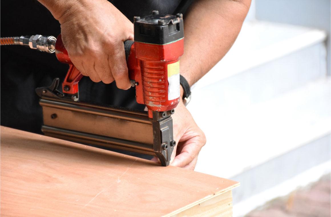 closeup man carpenter